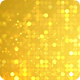 Glittering Golden Bokeh Dots Circle Background Nulled