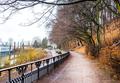 Walkway in Blankenese, Hamburg