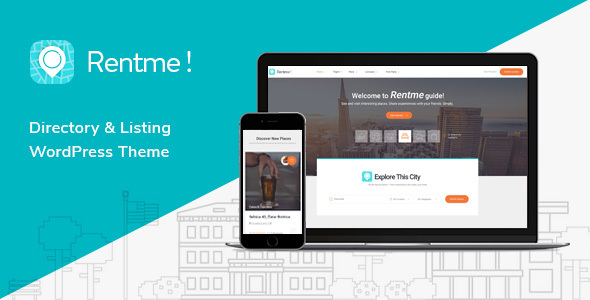 Rentme – Directory & Listings Multipurpose WordPress Theme
