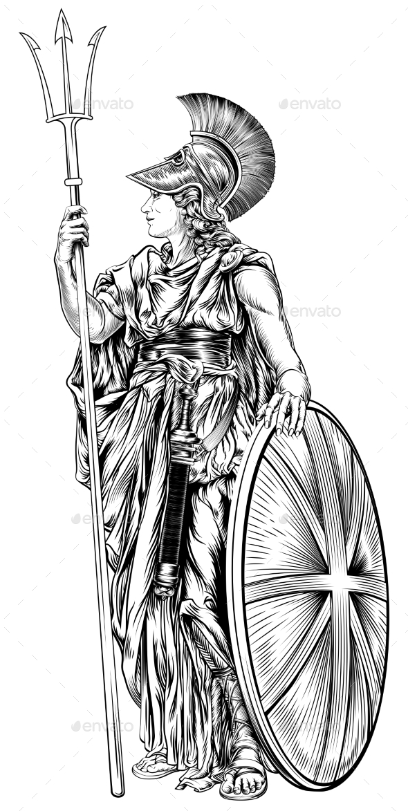 Britannia Illustration - People Characters