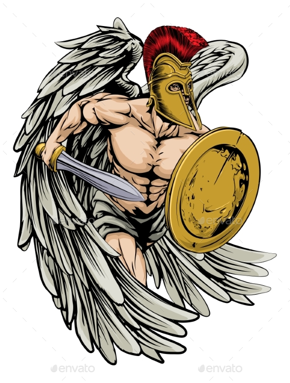 Armoured Angel - Sports/Activity Conceptual
