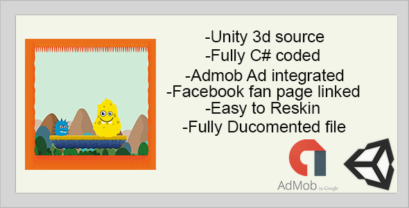 Monster Hunt for Flag | Unity 3D Source | 5 ADS Network Integration with Admob - CodeCanyon Item for Sale