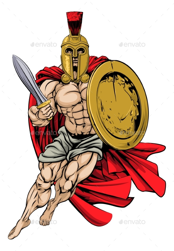 Trojan or Spartan - People Characters