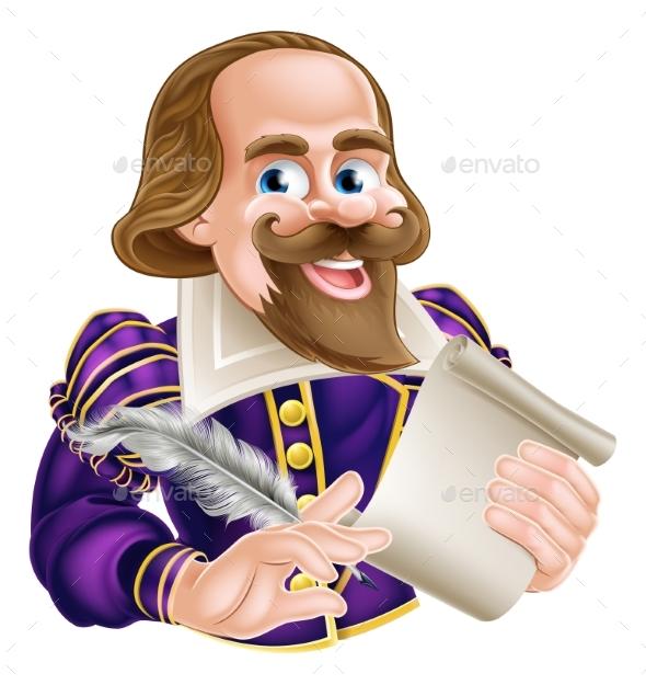 Cartoon Shakespeare - People Characters