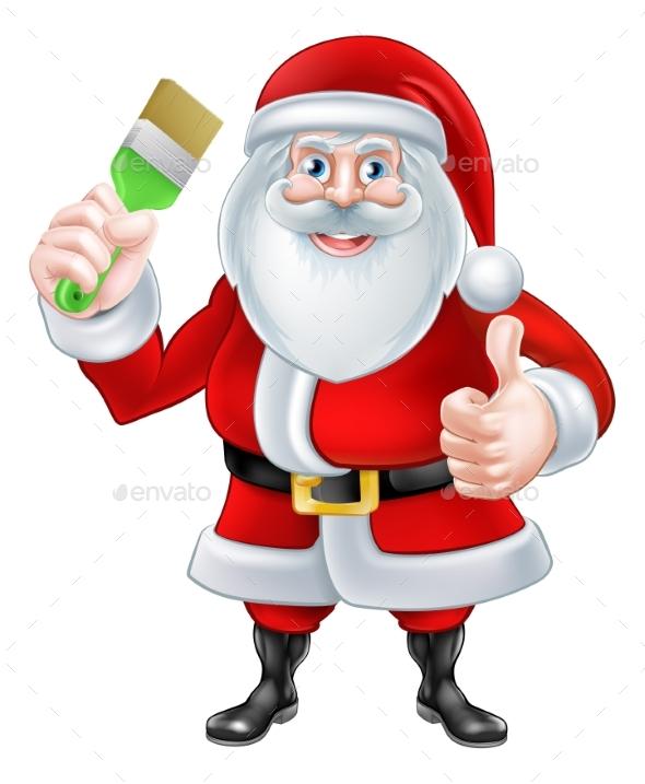 Santa Decorator - Christmas Seasons/Holidays