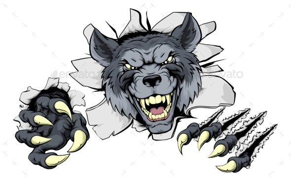 Wolf Claws Break Out - Animals Characters