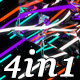 Mirror Color - VJ Loop Pack (4in1) - VideoHive Item for Sale