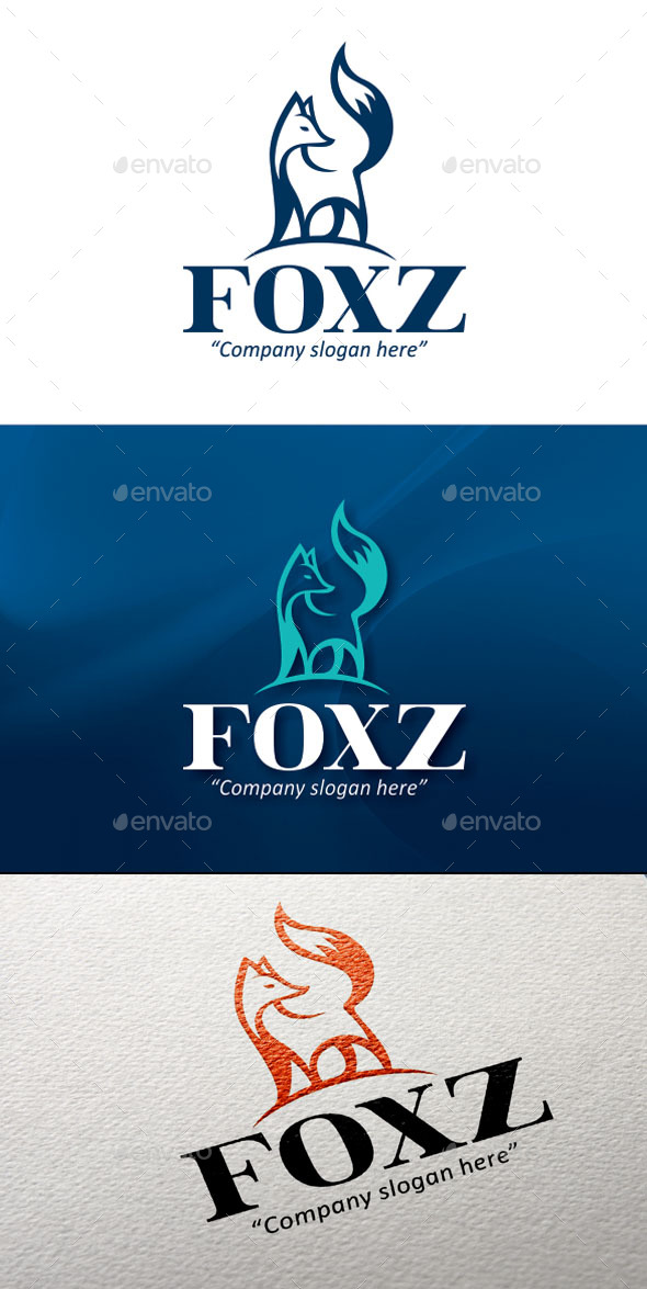Foxz Logo Temp. - Animals Logo Templates