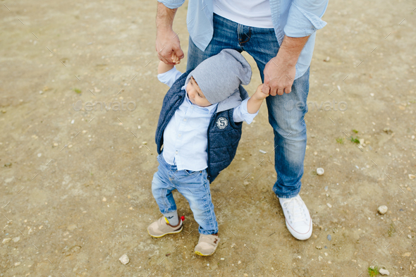 Dad with little son - Stock Photo - Images