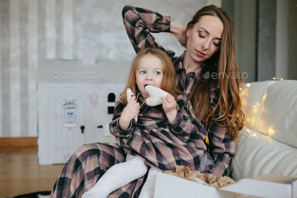Young mother with adorable baby - Stock Photo - Images