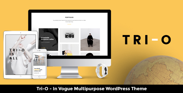 Tri-O – A Super Mature Multipurpose WordPress Theme