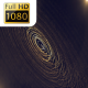 Circle Clean Gold Abstract Particles - VideoHive Item for Sale
