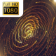 Techno Gold Lines Particles - VideoHive Item for Sale
