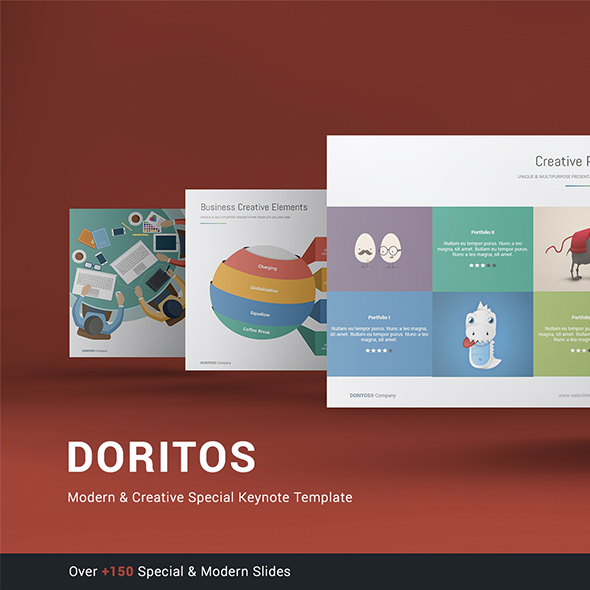 Doritos - Multipurpose & Creative Keynote Template - Creative Keynote Templates