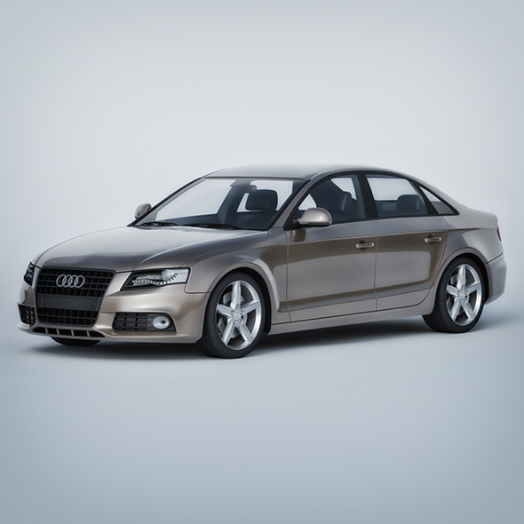 Vray Ready Realistic Audi Car - 3DOcean Item for Sale