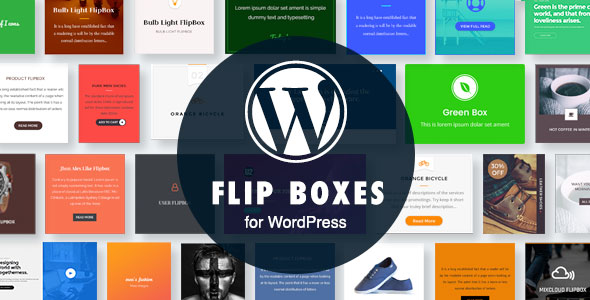 WordPress Flip Boxes Plugin with Layout Builder - CodeCanyon Item for Sale