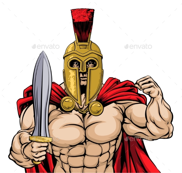 Roman Warrior - People Characters