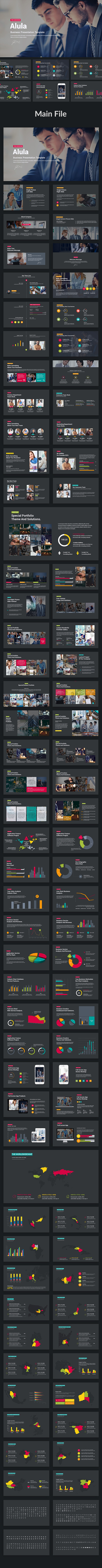 Alula - Business Powerpoint Template - PowerPoint Templates Presentation Templates