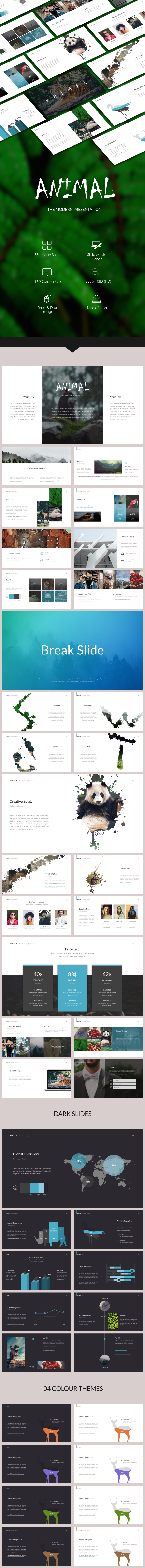 Animal powerpoint template by presentakit graphicriver animal powerpoint template business powerpoint templates alramifo Choice Image