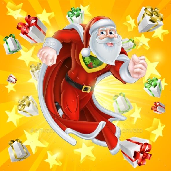 Santa Claus the Christmas Hero - Christmas Seasons/Holidays