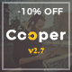 Cooper - Creative Responsive Personal Portfolio WordPress Theme - ThemeForest Item for Sale
