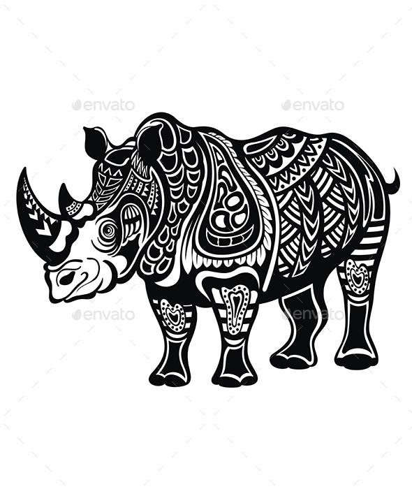 Rhinoceros - Animals Characters