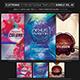 Electro Music Flyer/Instagram Bundle Vol. 50 - GraphicRiver Item for Sale