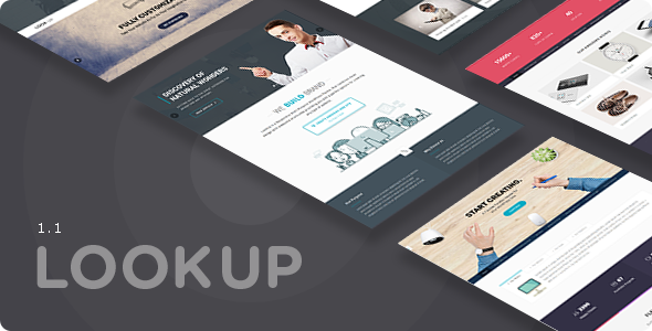 LookUp - Responsive Multi-Purpose HTML5 Template - Creative Site Templates