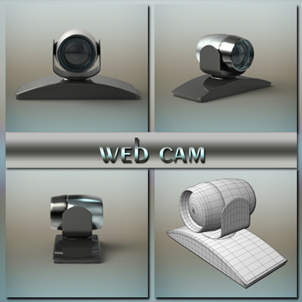 web cam - 3DOcean Item for Sale
