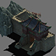 Family defense battlefield - city gate - 3DOcean Item for Sale