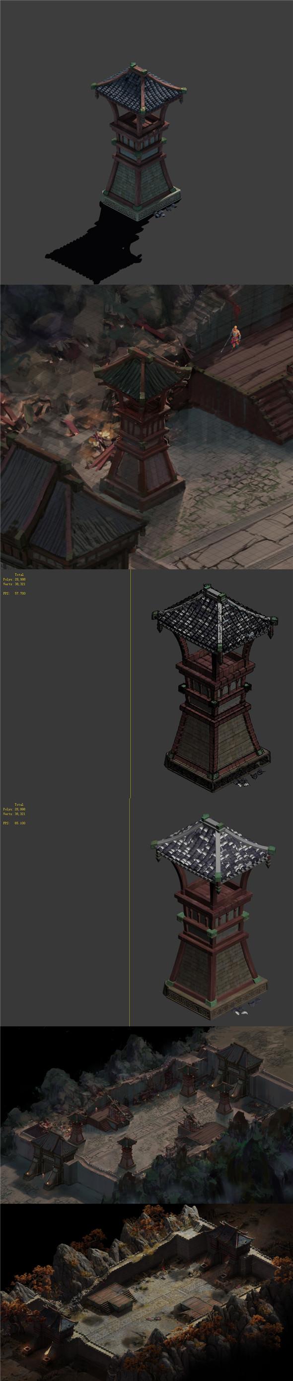 Family defense battlefield - arrow tower - 3DOcean Item for Sale