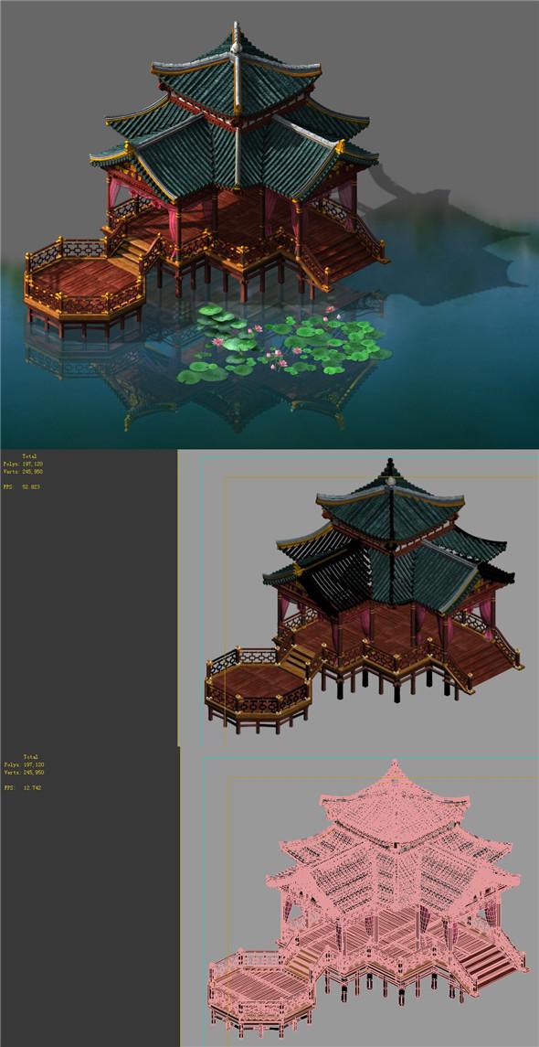 Building - Water loft - 3DOcean Item for Sale