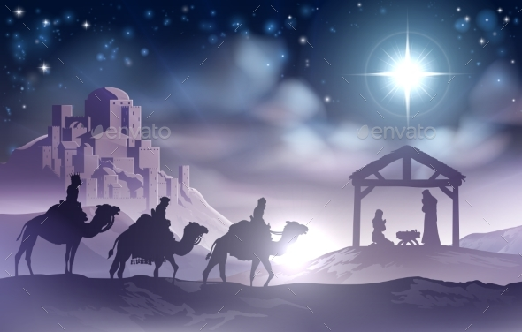 Nativity Scene - Landscapes Nature