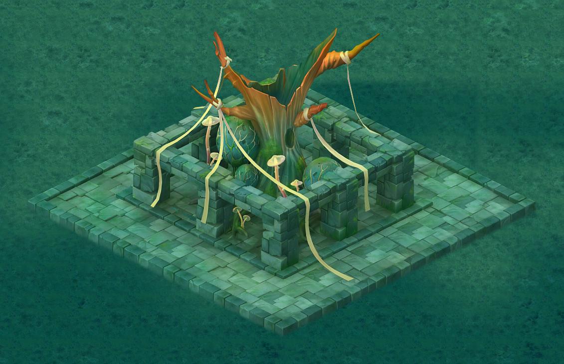 Cartoon Edition - Sacrifice Ancient Tree
