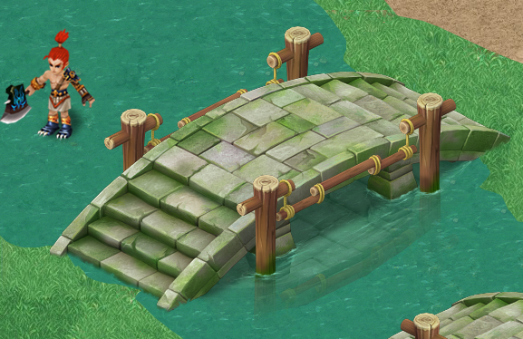 Cartoon version - stone bridge 011