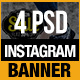 Instagram Promo Banners - GraphicRiver Item for Sale