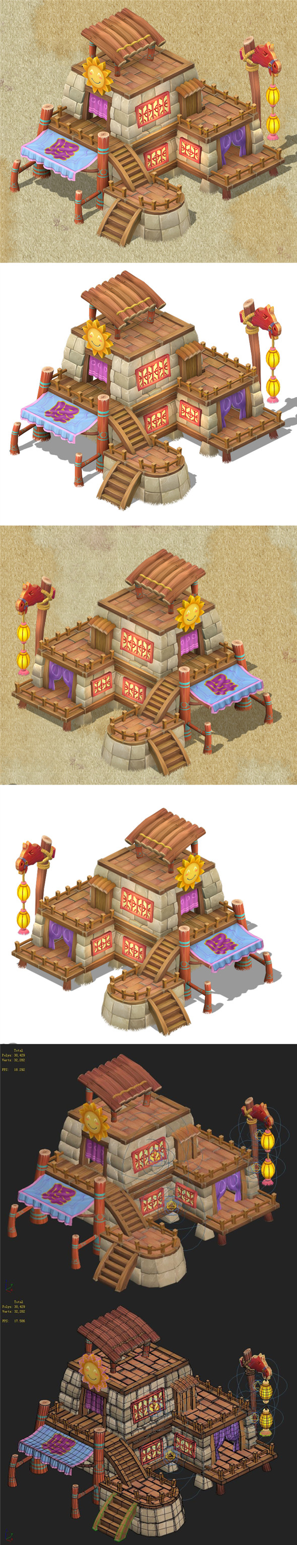 Cartoon Edition - Inn 03 - 3DOcean Item for Sale