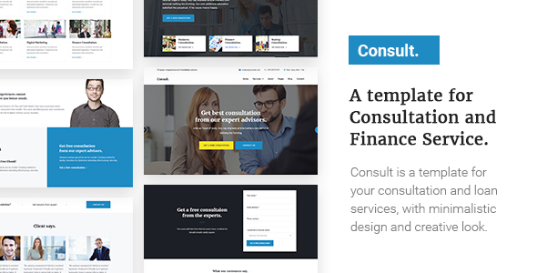 Consult – A Template for Consultation and Finance Service