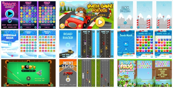 9-GAMES IN 1 BUNDLE! №1 (CAPX) - CodeCanyon Item for Sale