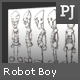 PixelJunkyard's Robot Boy Character Sheet - 3DOcean Item for Sale