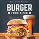 Burger Food Flyer - GraphicRiver Item for Sale