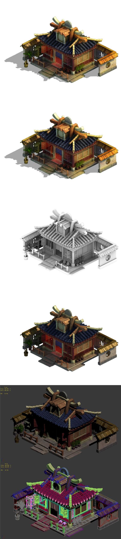 Cartoon - House 15 - 3DOcean Item for Sale