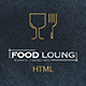 FOOD LOUNG - Restaurant Website Template
