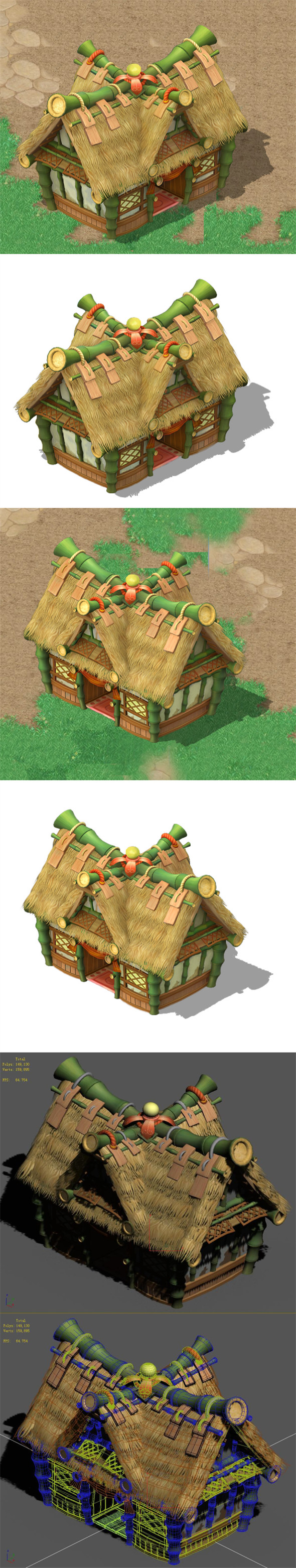 Cartoon World - House 01 - 3DOcean Item for Sale