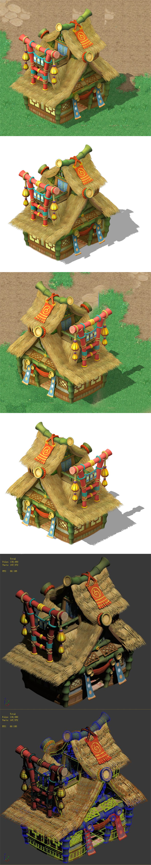 Cartoon World - House 04 - 3DOcean Item for Sale