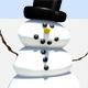 Dancing snowmen web banner - GraphicRiver Item for Sale