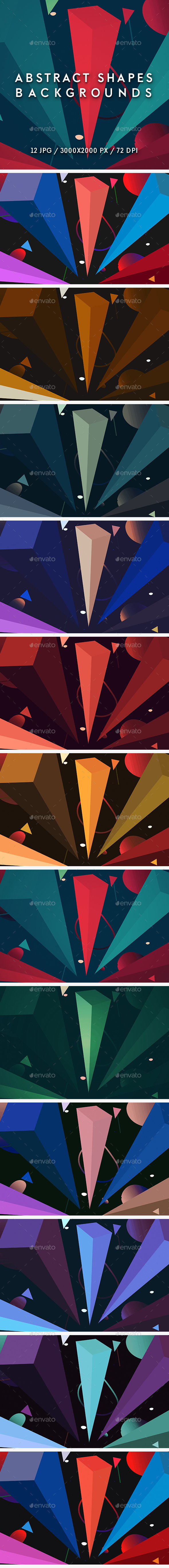 Abstract Shapes Backgrounds - Abstract Backgrounds