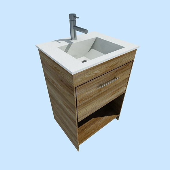 Washbasin / Lavatory / Sink / Lavabo - 3DOcean Item for Sale