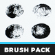 Gritty Rounds – Illustrator Brush Pack - GraphicRiver Item for Sale