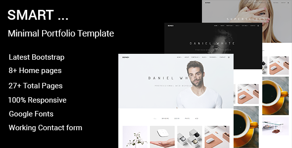Smart – Minimal Portfolio WordPress Theme